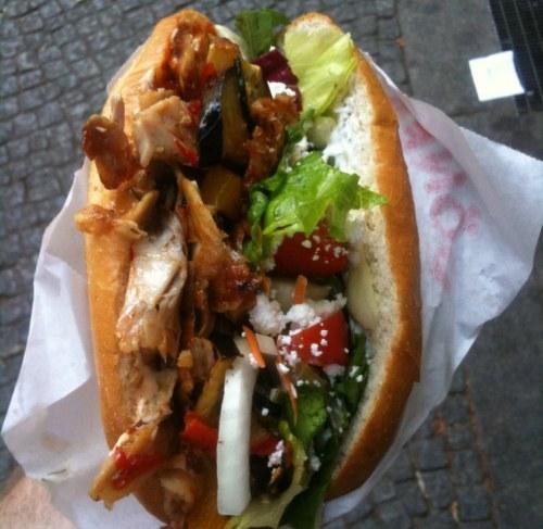 Phiên bản của doner kebab trên khắp thế giới