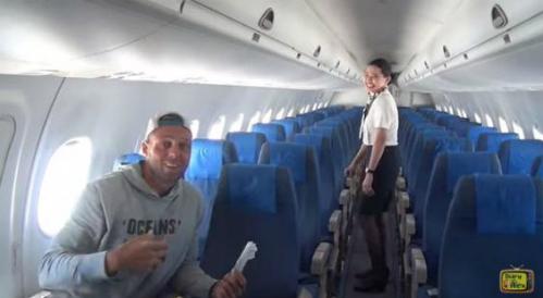 Chuyến bay bất ngờ chở một khách duy nhất