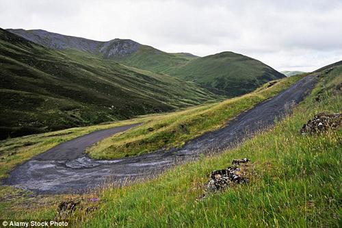 Cung đường khuỷu tay của quỷ dữ ở scotland