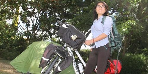 Dân new zealand góp tiền giúp du khách mua xe đạp bị trộm
