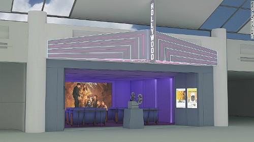 Sân bay mỹ dự tính xây rạp chiếu phim cho hành khách