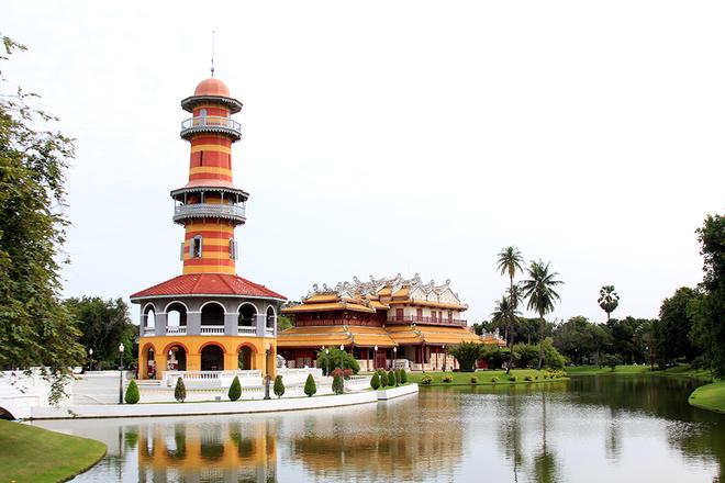 Thành phố cổ ayuthaya