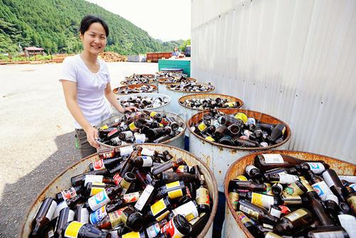 Thị trấn nơi mọi rác thải đều được sử dụng