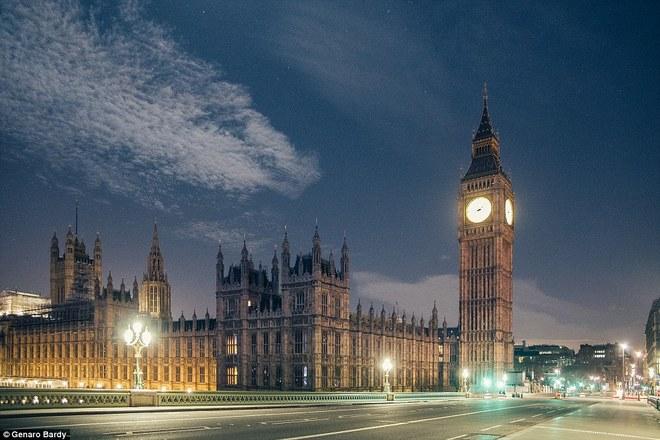 Khoảnh khắc london không một bóng người