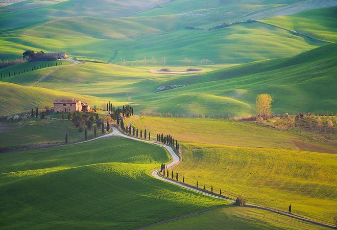 Tuscany thơ mộng như xứ sở thần tiên