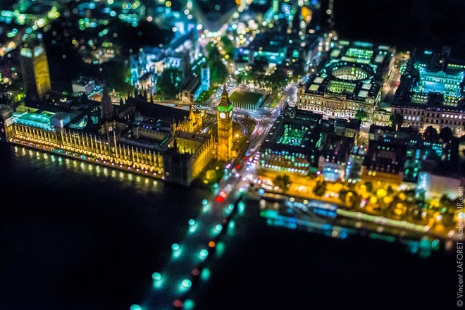 Vẻ đẹp london về đêm từ độ cao gần 2000 m