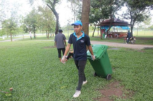 Công viên yên sở xanh sạch ngày 29