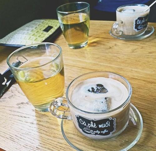 Hai địa chỉ thưởng thức cà phê muối ở cố đô huế