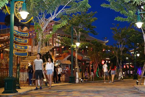 Nhiều hoạt động trong mùa trăng tròn tại asia park